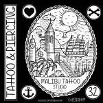 Malibu tattoo Sitges